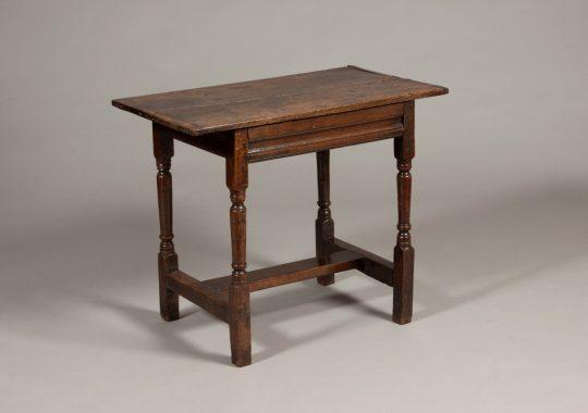 Welsh oak centre table