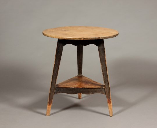 Painted Welsh cricket table