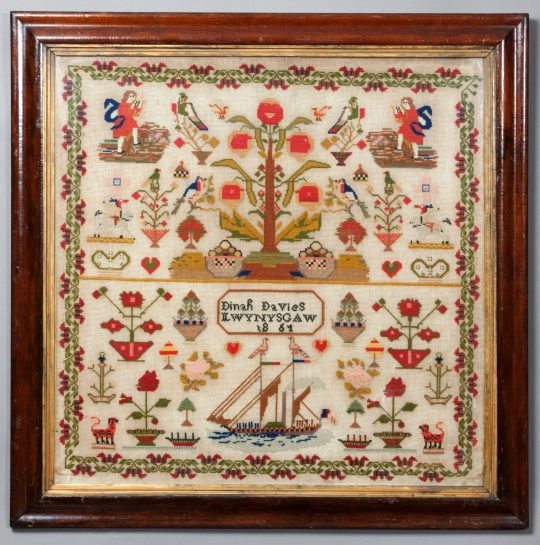 Welsh sampler SOLD
