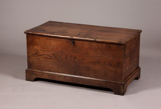 Oak chest Sold