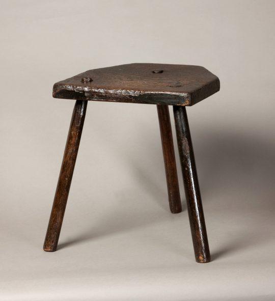 Primitive Welsh stool Sold