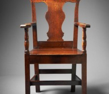 welsh antique desk chair oak arm chair ferryside antiques