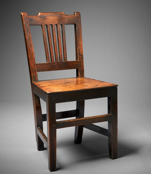 welsh oak antique chair