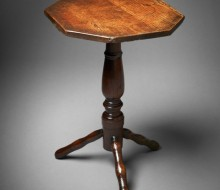 turners table antique lamp table