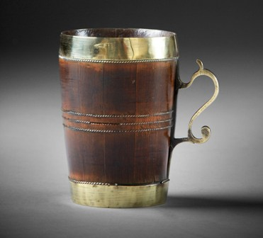 Coopered tankard