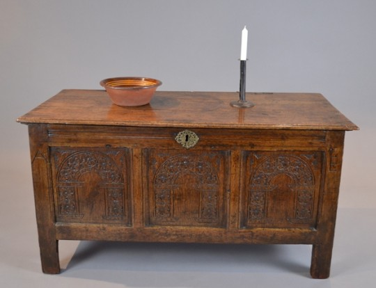 Small 17th century chest Sold