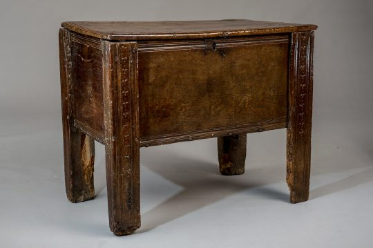 Early Welsh oak chest Sold