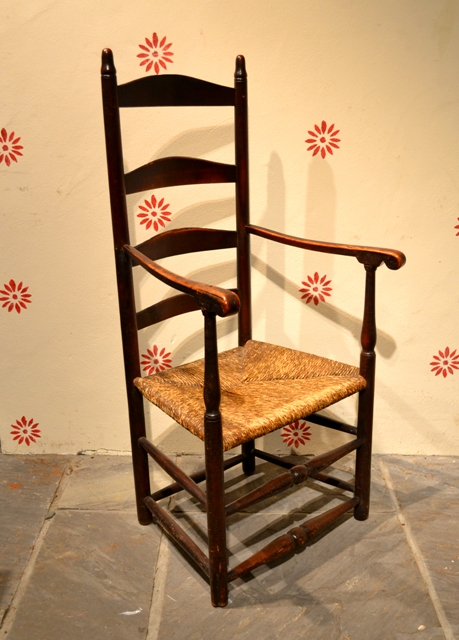 American ladder back chair