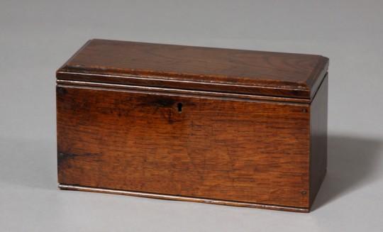 Small Welsh oak box