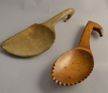 Welsh treen butter scoop welsh antiques antique treen