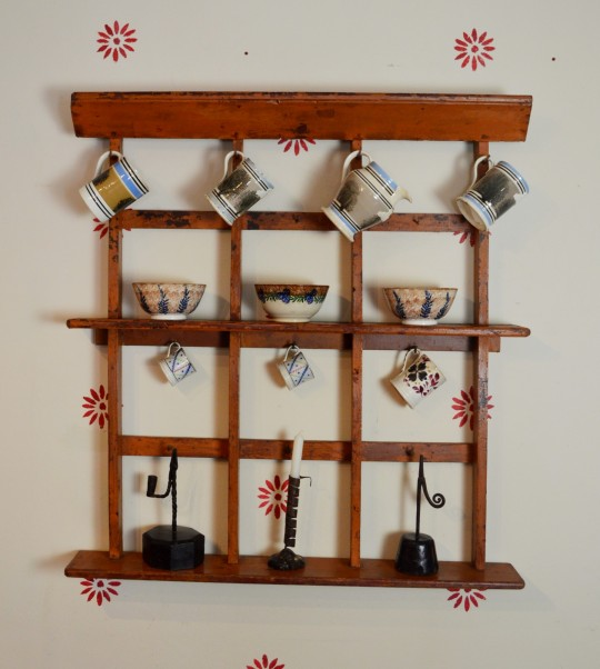 Irish mug rack