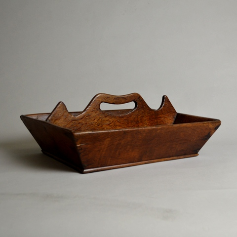 Welsh cutlery tray Sold