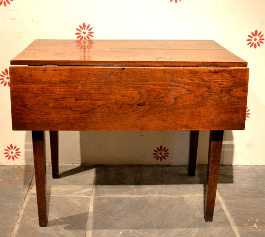 welsh antique table dropleaf low boy occasional table wine table serving table