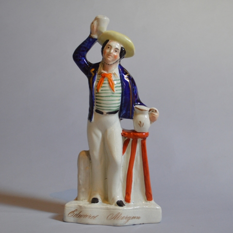 Edward Morgan Staffordshire figure Sold