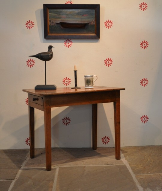 Small Welsh fruitwood table Sold