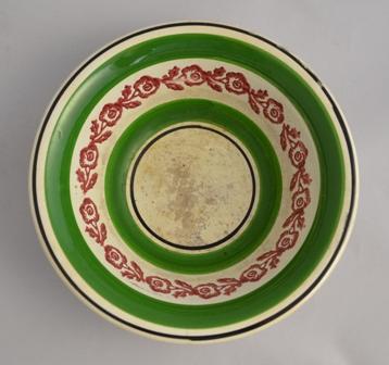 Llanelly pottery spongeware bowl Sold