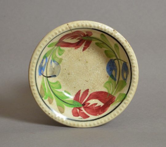 Small Llanelly pottery bowl