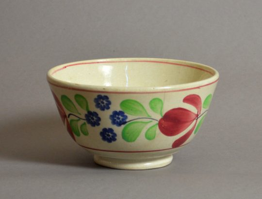 Hand painted & sponged bowl #4