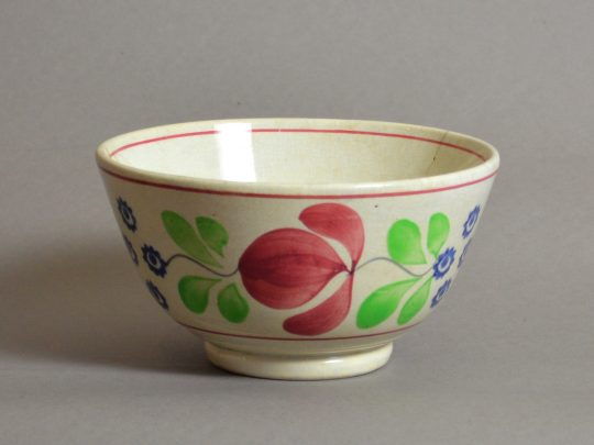 Hand painted & sponged bowl #5