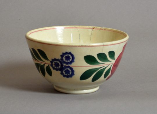 Hand painted & sponged bowl #6 Sold