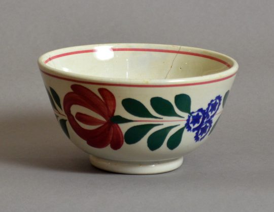 Hand painted & sponged bowl #7 Sold