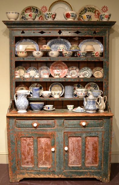 Irish dresser Sold