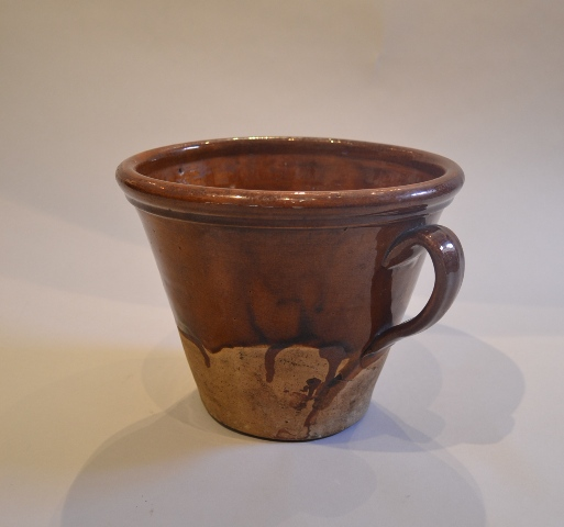 Earthenware dipping pan Sold