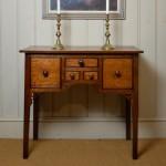 welsh antique dressing table desk