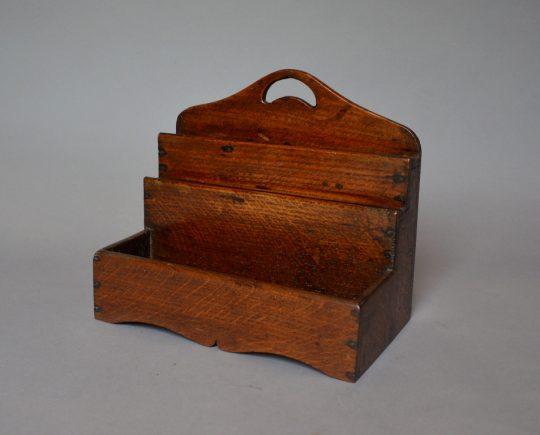 Oak knife rack
