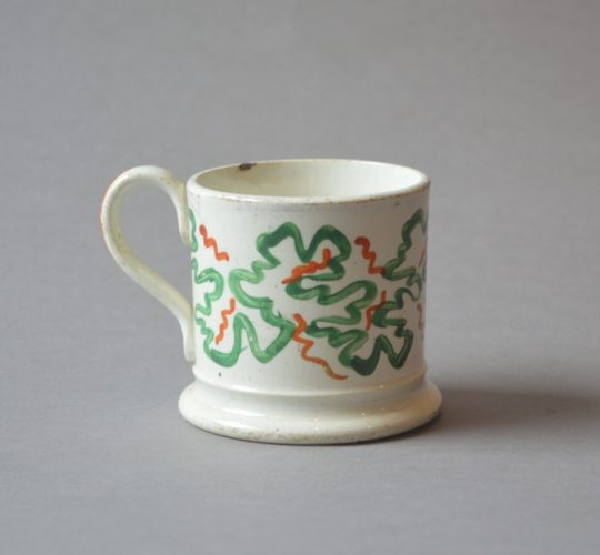 Small hand painted mug