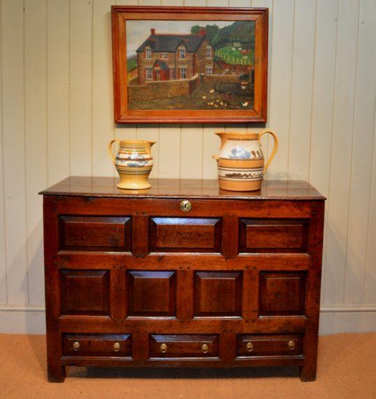 Welsh oak chest