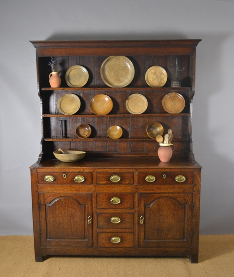 Small Welsh oak dresser