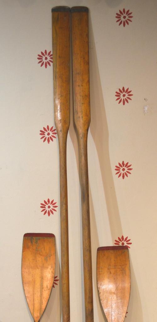 Vintage Ferryside oars