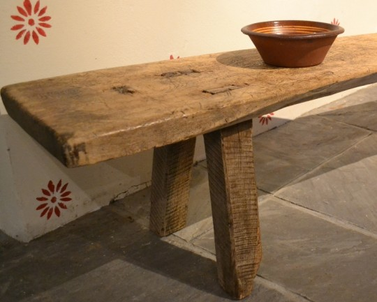 welsh pig bench antique coffee table