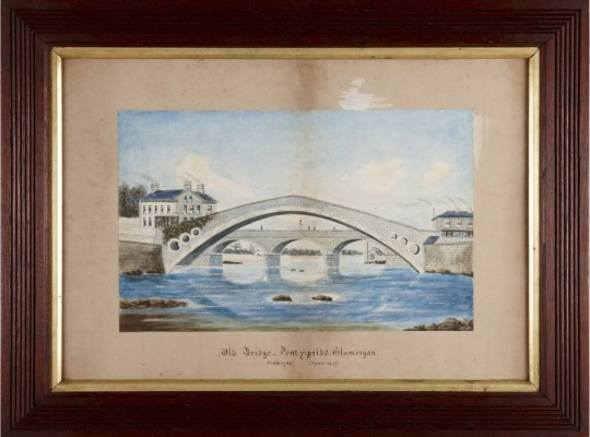 Old bridge Pontypridd Sold