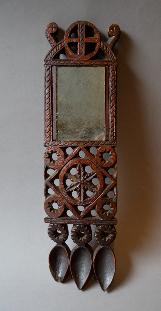 Large 19th century Welsh Lovespoon