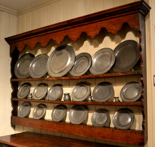 Welsh oak wall rack