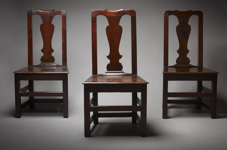 Set Of Three Chairs Sold