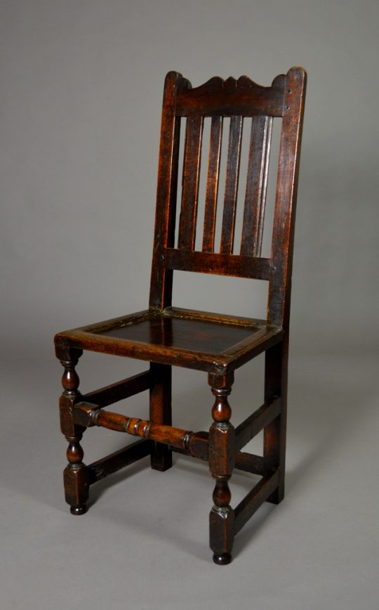 Welsh oak side chair Sold