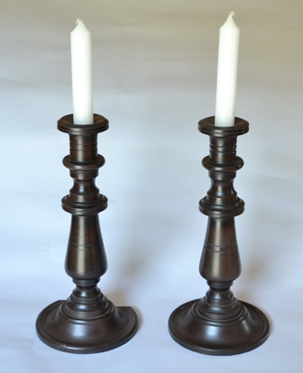 Slate candle sticks