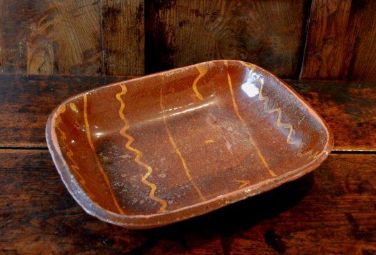 Slipware dish