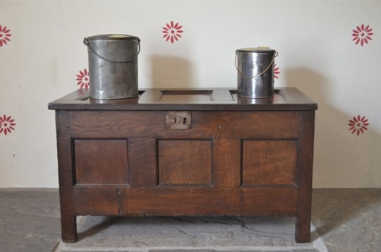 Small Welsh oak chest
