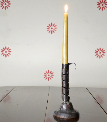 Spiral candle stick Sold