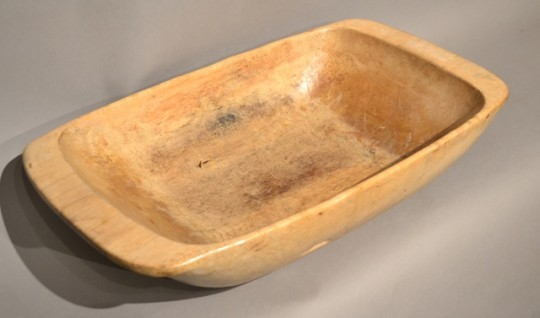 Carved dough bowl – sold