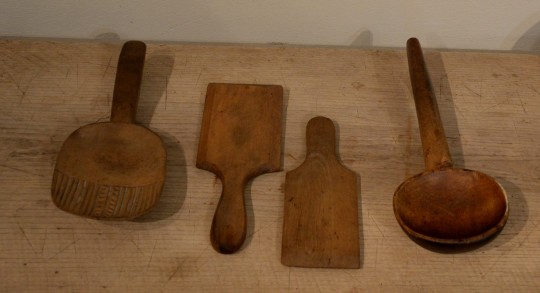 Dairy treen collection Sold