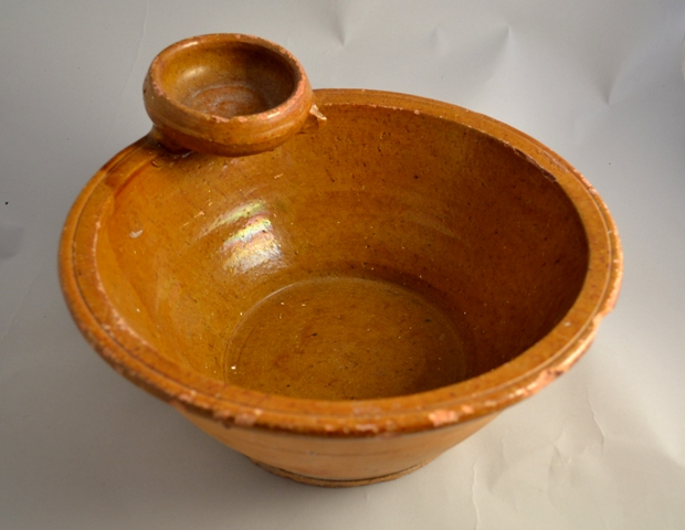 slipware earthenware bowl wash bowl slip pottery welsh pots